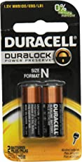 Duracell Coppertop Alkaline N Batteries, 2 Count (Pack of 6)