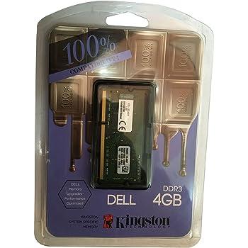 Kingston DDR3 4 GB (1 x 4 GB) Dell Laptop RAM (KTD-L3CL/4GFR)