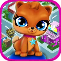 Animal Pet Celebrity City - Hollywood & Newborn Mommy Dog Pregnancy Virtual Free Zoo Game