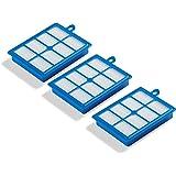 Supremery 3x vervangingsfilter HEPA13 compatibel met Philips FC8038 vacuüm, AEG, Electrolux, Tornado, Volta