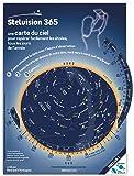 Stelvision 365  9ème édition: Une carte du ciel pour repérer facilement les étoiles, tous les jours de l'année