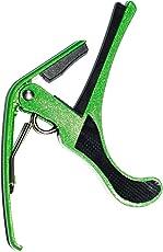 Guitarkart Capo for Acoustic Guitar (Green)