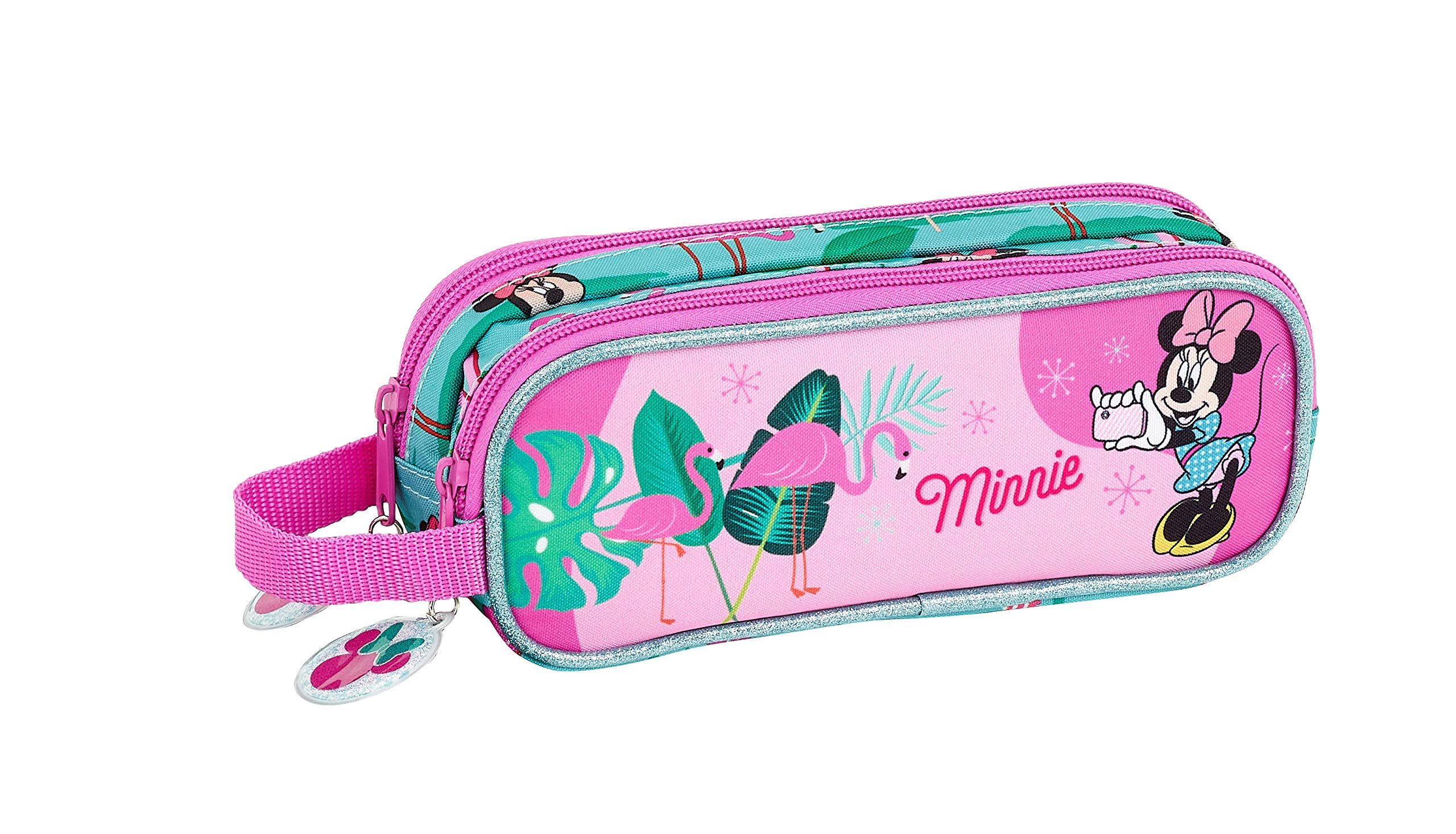 Minnie Mouse «Palms» Oficial Estuche Escolar 210x60x80mm