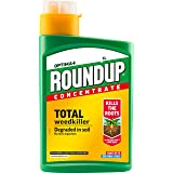 Roundup Optima+ Total Weedkiller, Concentrate, 1 Litre