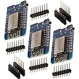 AZDelivery 3 x D1 Mini NodeMcu med ESP8266-12F WLAN-modul CH340G Lua med e-book!