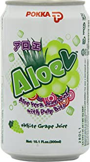 Pokka Aloe V White Grape and Aloe Vera Juice 300 ml