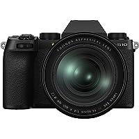 Fujifilm X-S10 - Fotocamera digitale mirrorless con obiettivo XF16-80 mmF4 R OIS WR, colore: Nero