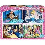 Educa - Princesas Disney Princess Conjunto de Puzzles, Multicolor (17637)