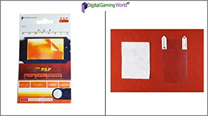 Digital Gaming World Screen Guard/Protector For PSP (1000/2000/3000 and E-1004 Models)