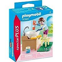 Playmobil Enfant avec lavabo Multicolor 70301