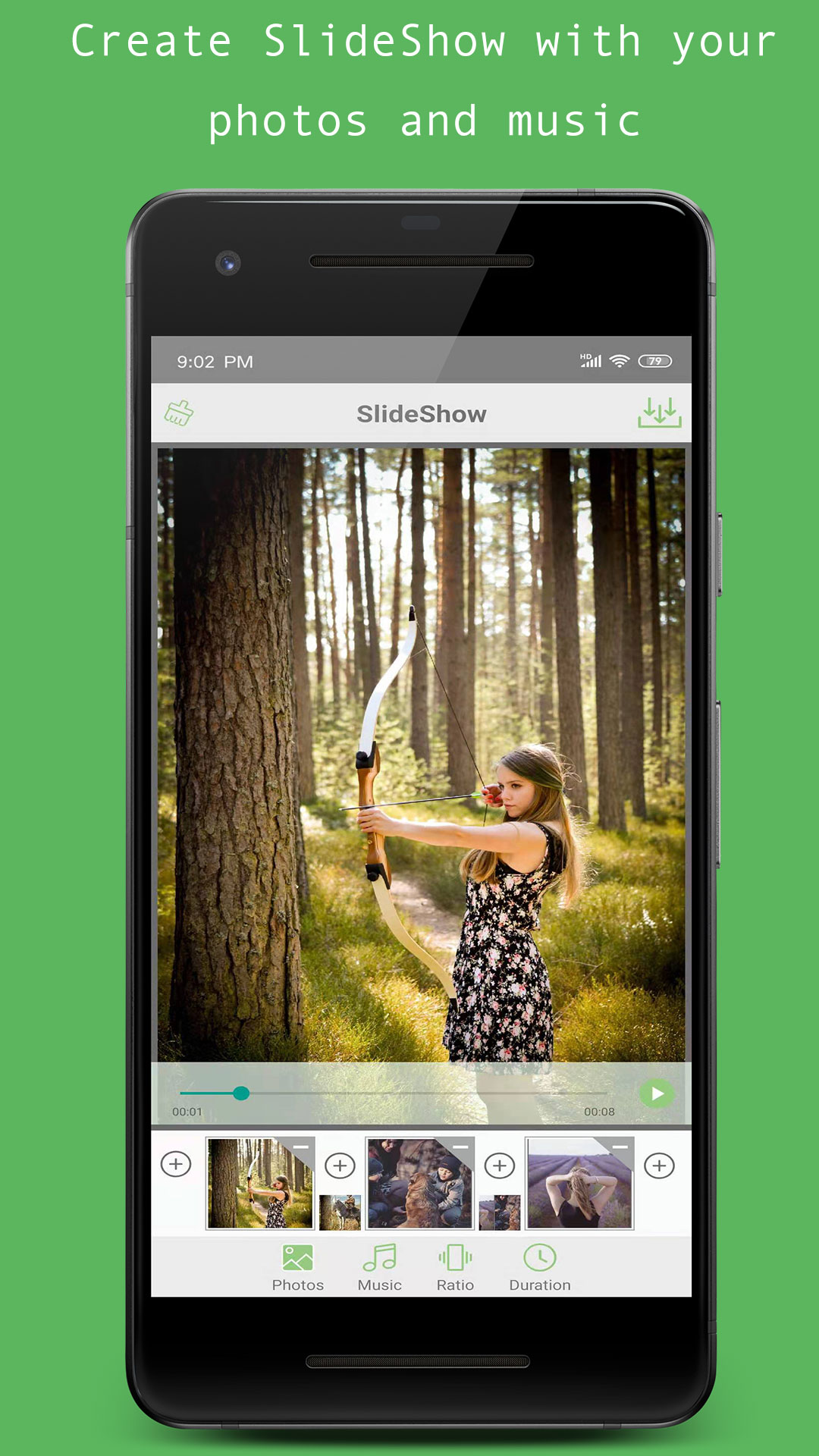 Photo Video SlideShow Maker With Music And Effects
