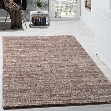 Teppich Modern Wohnzimmer Kurzflor Gemütlich Meliert Preiswert in ...