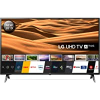 LG 43UM7100PLB 43 Inch UHD 4K HDR Smart LED TV with Freeview Play - Ceramic Black (2019 Model) Amazon exclusive, with Alexa built-in