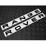 Velar RangeRover Sport Vogue Evoque Kit de lettrage noir brillant avant ou arri/ère