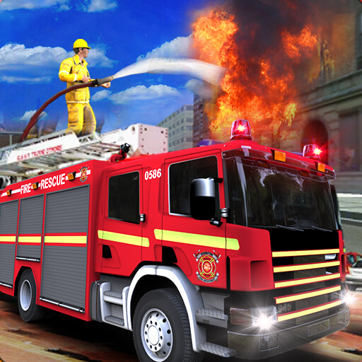 Real City Heroes Fire Fighter Games 2018
