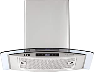 IFB 60cm 1050 m3/hr Chimney (GL 14T, 1 Cassette Filter, Touch Control, Silver)