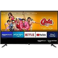 AmazonBasics 81cm (32 inches) Fire TV Edition HD Ready Smart LED TV AB32E10SS (Black)