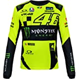 VR46 Valentino Rossi Monster Energy MotoGP 2018 - Camiseta de manga larga para hombre