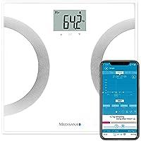 Medisana BS 445 Connect Pèse-personne avec analyse corporelle, jusqu'à 180 kg, Appli VitaDock+, Bluetooth - 40441