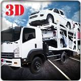 Schwerer Anhänger-Fracht-LKW-Transporter-Simulator 3D: Transport wütende u. Schnelle laufende Autos im nicht für den Straßenverkehr treibenden Parkig Simulations-Spiele geben für Kinder 2018 frei