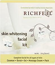 Richfeel Skin Whitening Facial Kit, 6g (Pack of 5)