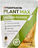 MAXIMUSCLE Plant Max Vegan Protein Powder, Banana Fudge Flavour, 480 g