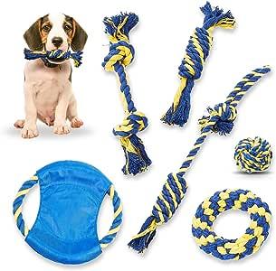 Rubyu Hundespielzeug zur Zahnreinigung und Spielzeit