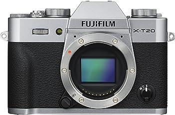 Fujifilm X-T20 Mirrorless Digital Camera - Silver (Body Only)