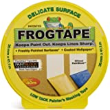 Frog Tape Gele Delicate Surface Painters Afplakband 36mm x 41.1m. Indoor schilderen en decoreren voor scherpe lijnen en geen