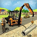 City Road Builder Bau Bagger Simulator