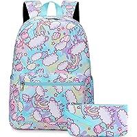 Mädchen Schulranzen Superleichte Schulrucksack Teenager Schultasche Rucksack Mädchen Kinderrucksack Damen Daypacks…