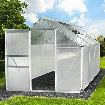 Zelsius Aluminium Gewachshaus Garten Treibhaus In Verschiedenen