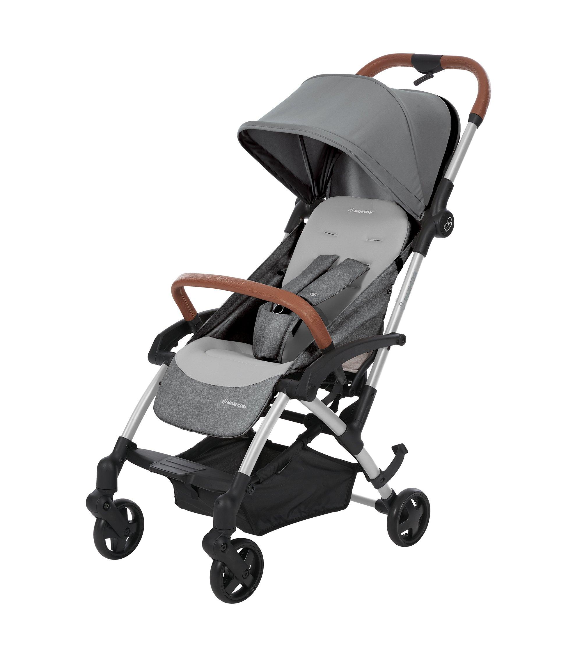 Maxi Cosi Laika Baby-Kinderwagen, einfach zusammenklappbar, ultra-kompakter und federleichter Buggy, ideal für die City…