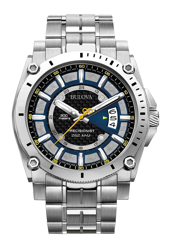 bulova men s quartz watch analogue display and stainless steel bulova men s quartz watch analogue display and stainless steel strap 96b131 amazon co uk watches