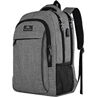 MATEIN Travel Laptop Backpack, Work Bag Lightweight Laptop Bag with USB Charging Port, Anti Theft Business Backpack…