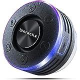 Cassa Bluetooth Portatile, IPX7 Waterproof Bluetooth Speaker Doccia con Spettacolo di luci, Deep Bass, TWS 5.0 Suono Stereo A