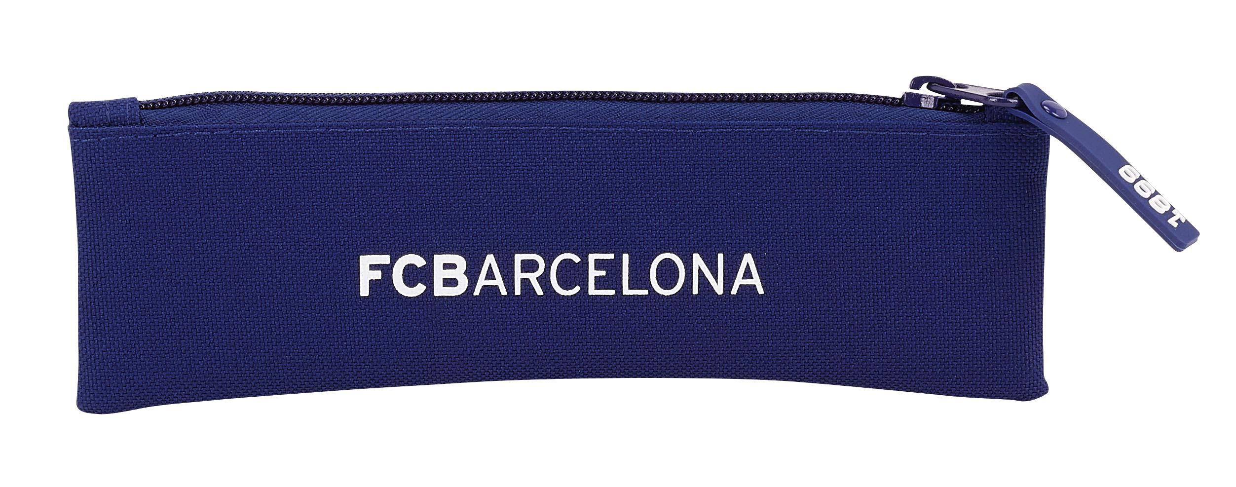 Safta 20 cm, Azul FC Barcelona 811829025 2018 Estuches, Unisex
