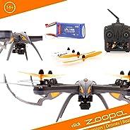 zoopa - Dron ZQ0601 –Acme–Q 600Mantis Movie Quadro–Genial para Exterior, 2,4GHz, luz activable, giros de 360°, 3veloc
