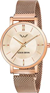 LOUIS DEVIN Analogue Women's Watch