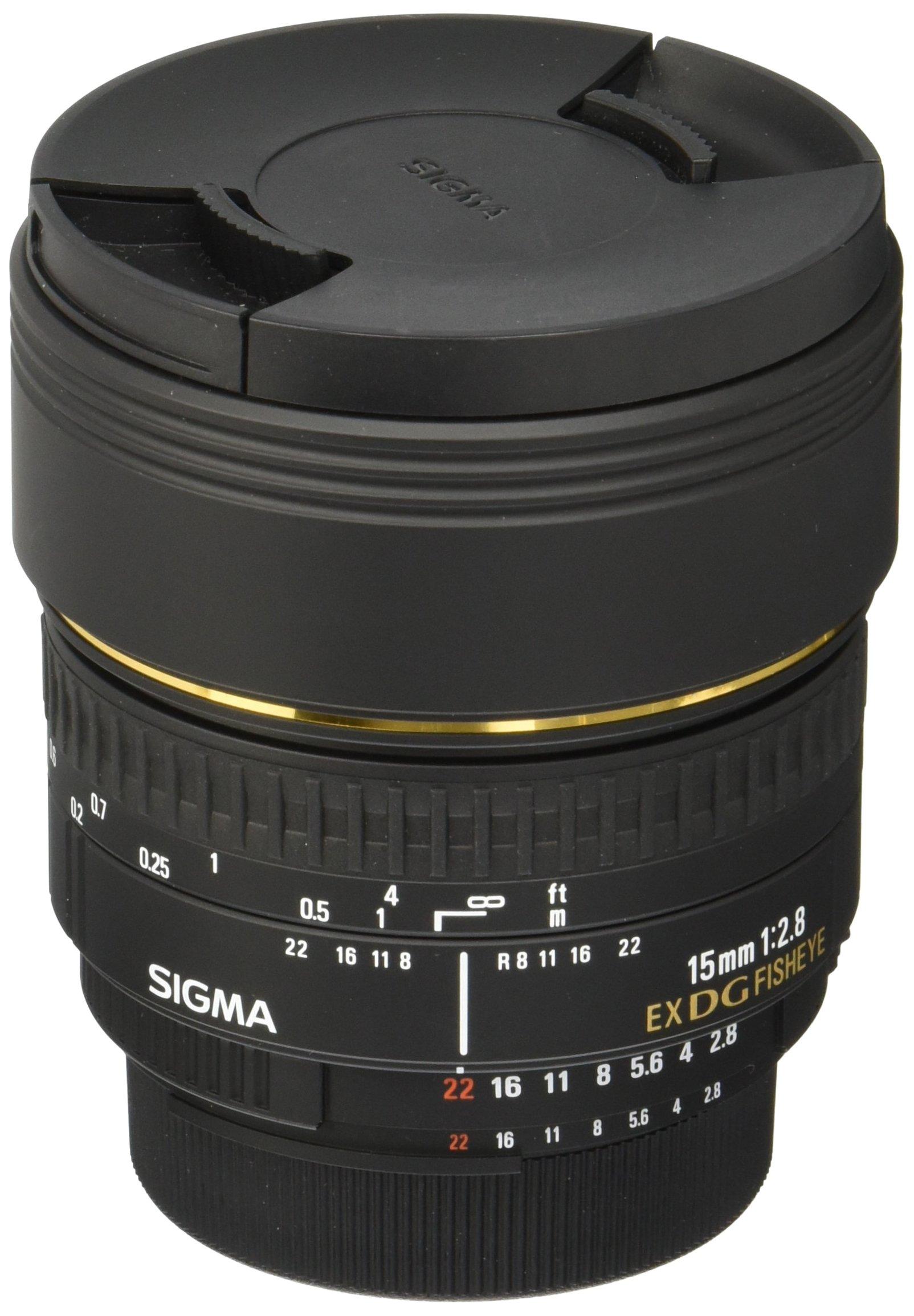 Sigma 15Mm F2.8 Af Ex Dg P.Nik