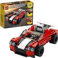 LEGO 31100 Creator La Voiture de Sport, Jouet à Construire pour Les Enfants Qui Aiment Les modèles réduits de Voitures…