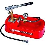 Bomba de prueba de Rothenberger 6.1130 para tuberías domésticas, 30 bar