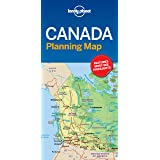 Lonely Planet Canada Planning Map [Idioma Inglés]