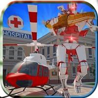 simulateur d'hélicoptère robot