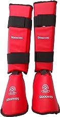 Kai Approved Goodwin Karate Shin Pad, Foot Protector