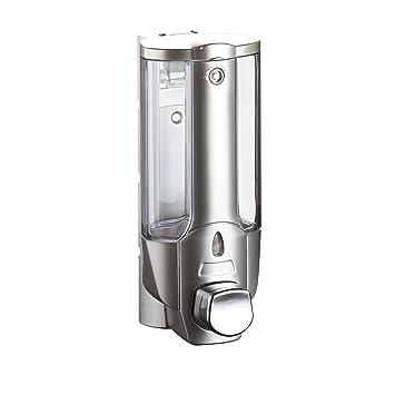 Sehr Gut axentia Wand-Seifenspender in Silber, Universalspender für  LQ96