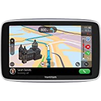 TomTom Navigationsgerät GO Premium (5 Zoll, Stauvermeidung dank TomTom Traffic, Karten-Updates Welt, Updates über WiFi…
