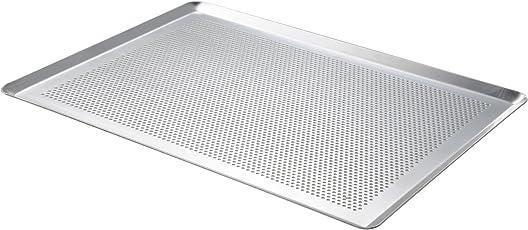 De Buyer Platte Vanillesoße-–Aluminium unbeschichtet