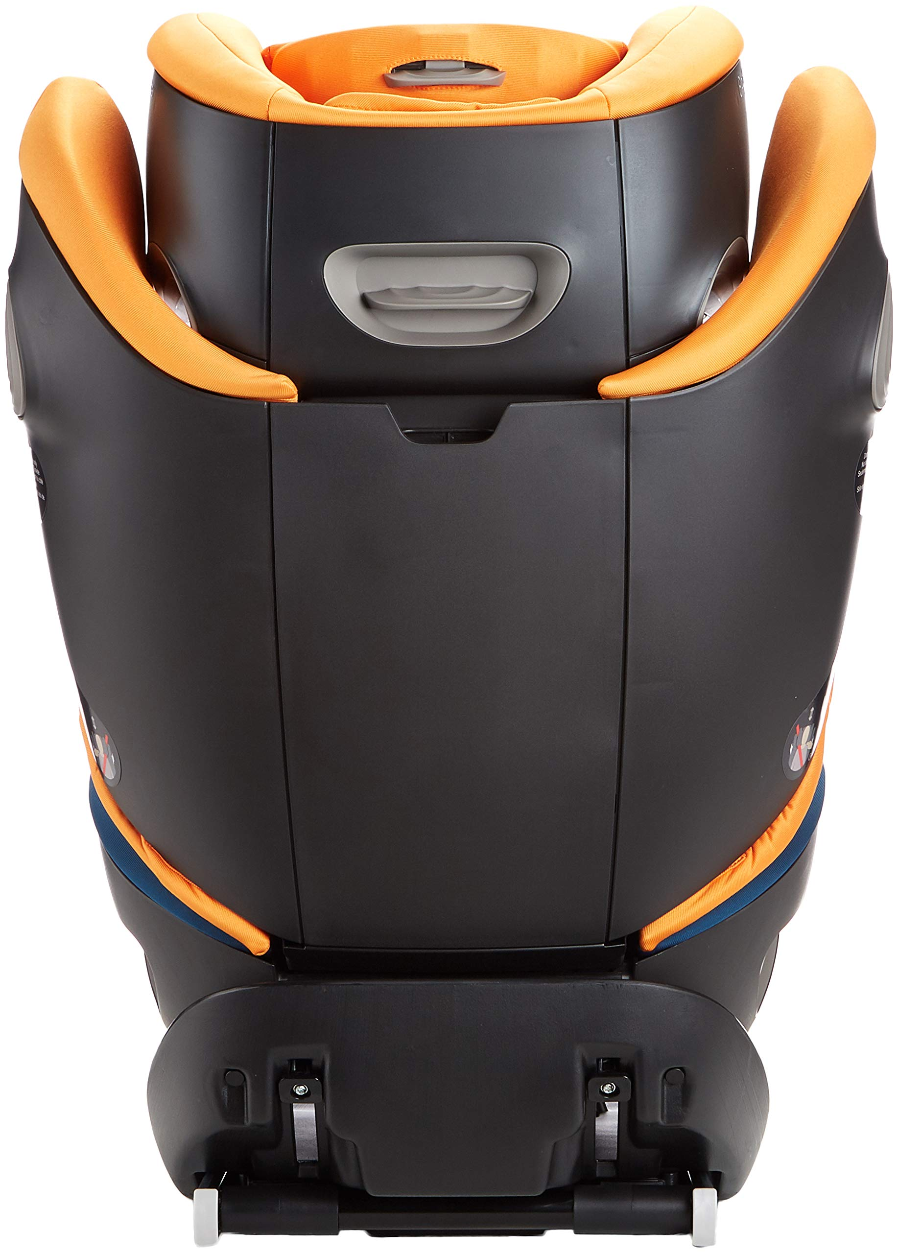 CYBEX Gold Pallas S-Fix 2-in-1 Child's Car Seat, For Cars with and without ISOFIX, Group 1/2/3 (9-36 kg), From approx. 9 Months to approx. 12 Years, Tropical Blue Cybex Sturdy and high-quality child car seat for long-term use - For children aged approx. 9 months to approx. 12 years (9-36 kg), Suitable for cars with and without ISOFIX Maximum safety - Depth-adjustable impact shield, 3-way adjustable reclining headrest, Built-in side impact protection (L.S.P. System), Energy-absorbing shell 12-way height-adjustable comfort headrest, One-hand adjustable reclining position, Easy conversion to Solution S-Fix car seat for children 3 years and older (group 2/3) by removing impact shield and base 5