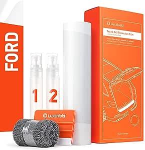 Lackschutzfolie Ladekantenschutz  transparent für Ford Kuga  16-19  150 µm